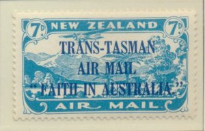 New Zealand Stamp Scott #C5, Mint Hinged - Free U.S. Shipping, Free Worldwide...