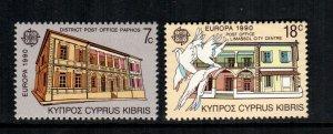 Cyprus  755 - 756  MNH cat $ 3.00