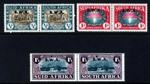 SOUTH WEST AFRICA 1939 250th Anniversary of Huguenots Set SG 111 to SG 113 MINT