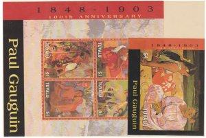Tuvalu Scott #941-942 Stamps - Mint NH Souvenir Sheet Set