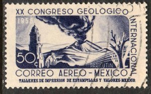 MEXICO C235, 25¢ Interamerican GEOLOGICAL Cong. Used. F-VF. (1104)
