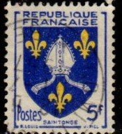 France -  #739 Arms Type - Saintonge - Used