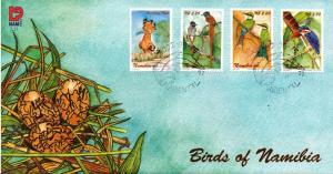 Namibia - 2002 Birds FDC