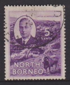 North Borneo Sc#248 Used