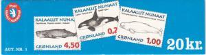 Greenland #306a MNH Booklet CV$13.00 Facit HA1 [84907]