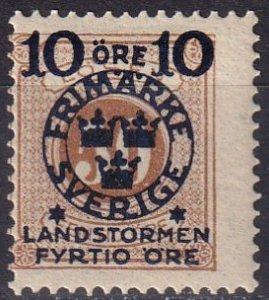 Sweden #B20 F-VF Unused CV $20.00 (Z5068)