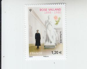 2018 France Rose Valland - Art Historian (Scott 5524) MNH