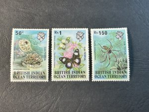 BR.INDIAN OCEAN TERRITORY # 54-56--MINT NEVER/HINGED----COMPLETE SET----1973