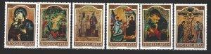 Yugoslavia. 1968. 1268-73. Icons. MNH.