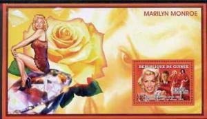 Guinea 2006 MARILYN MONROE & JANE RUSSELL FILM s/s Perforated Mint (NH)
