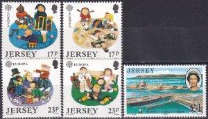 Jersey #511-5 MNH  CV $5.70 (Z3963)