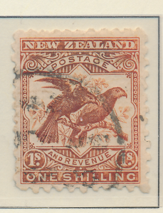 New Zealand Stamp Scott #96, Used - Free U.S. Shipping, Free Worldwide Shippi...