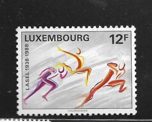 LUXEMBOURG, 791, MINT HINGED, STUDENT SPORTS