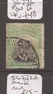 Rhodesia Admiral SG 226 VFU (3awy)