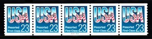USA PNC SC# 2606 USA $0.23c.PRESORTED FIRST CLASS PL# A4443 W. A. PNC5 MNH