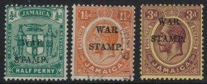 Jamaica #MR7-9*/u  CV $4.50