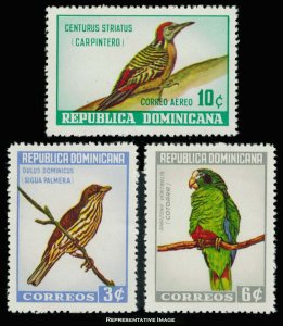 Dominican Republic Scott 596-597, C134 Mint never hinged.