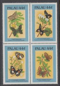 Palau 121Bf Butterflies MNH VF
