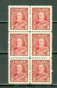 CANADA 1935 GEO V #219 BLK of 6 MNH...$9.00