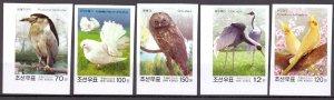 North Korea. 2003. 4686B-90B bl558. fauna birds pigeons. MNH.