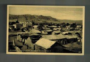 1948 Bethlehem Palestine Real Picture Postcard Cover Jericho Mount Temptation