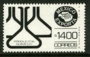 MEXICO Exporta 1593, $1400P Chemical Prods Fluor Paper 13. MINT, NH. F-VF.