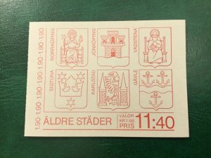 ICOLLECTZONE Sweden 1513a Booklet VF NH