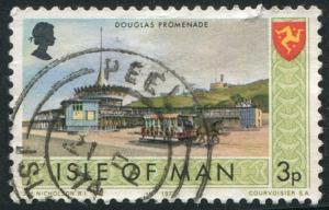 Isle of Man Sc#17 Douglas Promenade  Used VG  (Im)