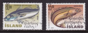 Iceland, Fauna, Fishes MNH / 2001