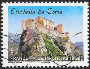 France 4235 Used - ‭‭‭Historic Residences - ‭Citadelle de Corte