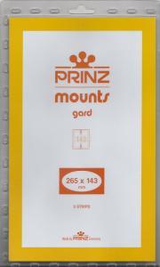 PRINZ BLACK MOUNTS 265X143 (5) RETAIL PRICE $13.50