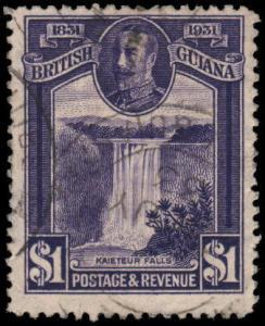 British Guiana 209 used
