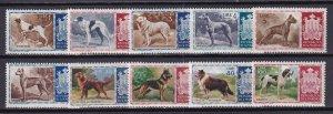 1956 - SAN MARINO - DOGS - Scott #375-384 - MNH**