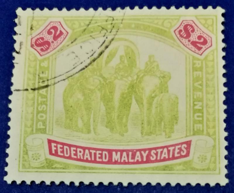Malaya Scott # 15 Used