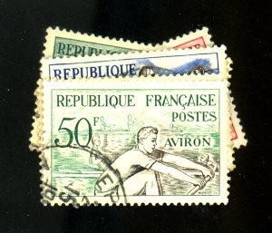 FRANCE #700-5 USED VF Cat $14