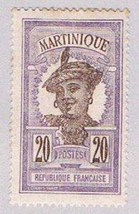 Martinique 73 MLH Woman 1908 (BP5288)