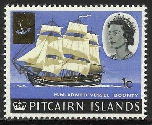 Pitcairn Islands 1967 Scott# 73 MH