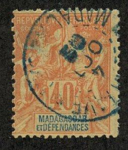 Madagascar, Scott #42, Used
