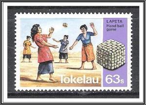 Tokelau #101 Traditional Games MNH