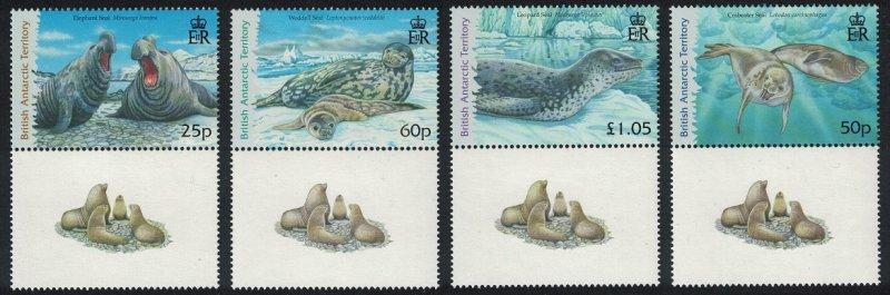 BAT Seals 4v Bottom Labels SG#448-451