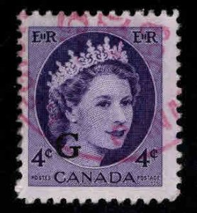 Canada Used Scott o43 Used official stamp