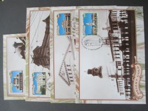 AUSTRALIA GROUP OF 14 X MAXI CARDS INCLUDES 4 X AAT, SEE THE PHOTOS.