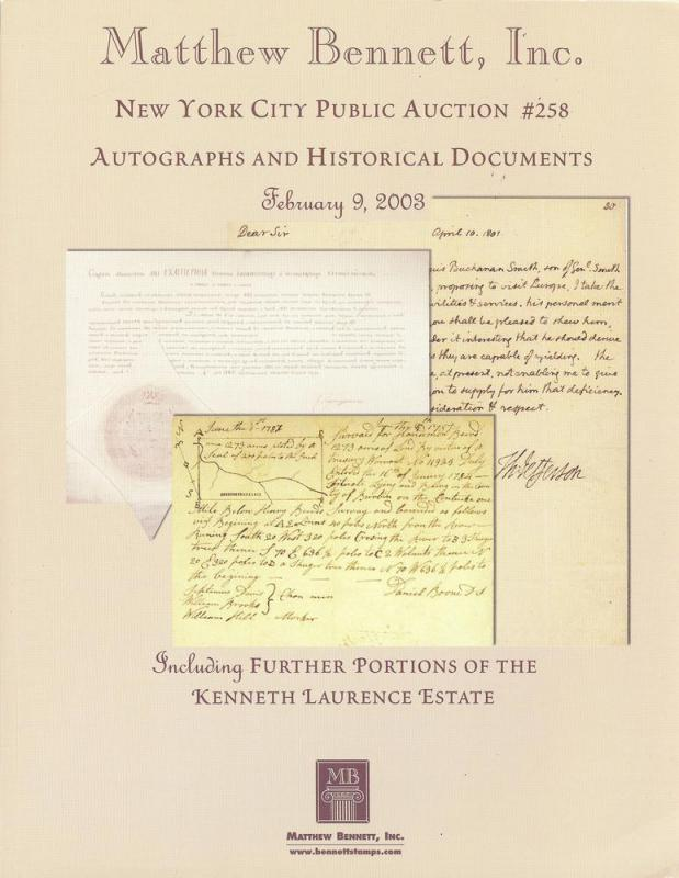 Autographs and Historical Documents including further por...