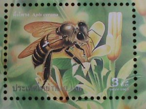 THAILAND STAMP-2000 SC#2927a  COLORFUL BEAUTIFUL LOVELY BEE MNH: S/S-VF