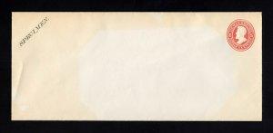 UO56, UPSS #WD103-2 6c OFFICIAL SPECIMEN FORM 18 Envelope, UPSS Cat 75.00