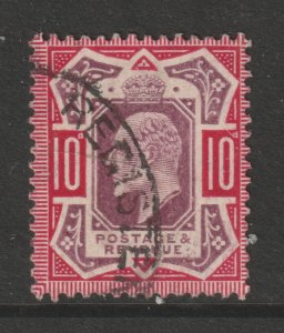 Great Britain a good/fine used 10d Edward