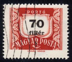 Hungary #J242 Postage Due; CTO (0.25)