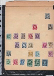 belgium  stamps page ref 18068
