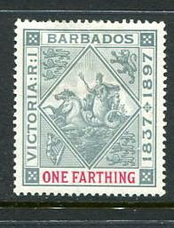 Barbados #81 Mint (Box1)
