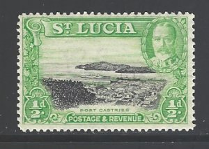 St. Lucia Sc # 95 mint hinged (RS)